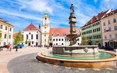 Les quartiers de Bratislava (comparatif)
